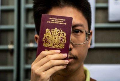 英宣布港人BNO移民不設上限衛報估計百萬港人移英