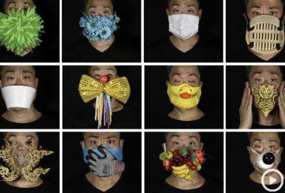 [新聞] 逆境中的創造力:受coronaviru啟發的Arty口罩