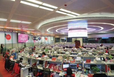 消費類股,科技巨頭推動香港股市走高