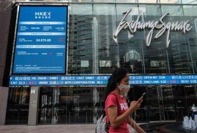 香港:週一股市開始上漲